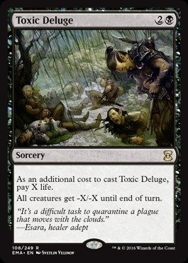 Magic The Gathering - Toxic Deluge (108/249) - Eternal Masters