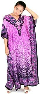 Miss Lavish London Women Kaftan Tunic Kimono Free Size Maxi Party Loungewear Holidays Dresses #103
