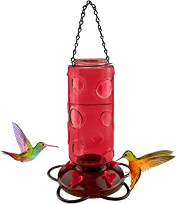 single hole hummingbird feeder