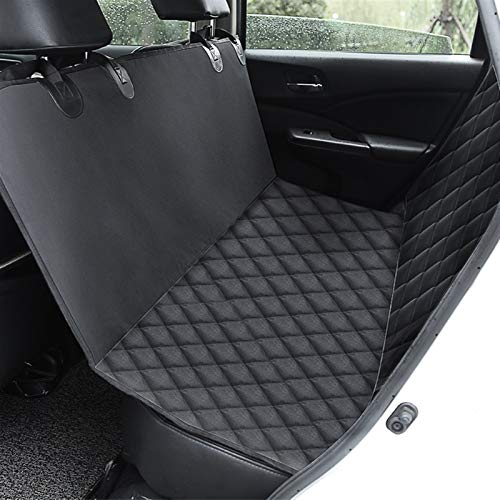 Gwendolyn Waterproof Pet Seat Cover Car Seat Cover for Cars Trucks and SUVs Pet Car Hammock Back Seat Cover With a Storage Bag