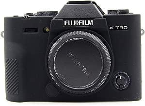 1pcs Soft Silicone Protective Skin Camera Case Body Shell Cover For FUJI Fujifilm XT30 X-T30 Camera  Black