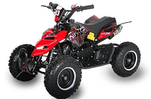Maxi Kinder Quad Mini Atv 49cc Quad Miniquad Elektro Starter Fernbedienung Kinderquad Cobra 6 Zoll