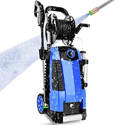 3800PSI Pressure Washer, 2.8GPM High Pressure Power Washer, TA5240 Pressure Washer Car Patio Garden Yard Cleaner