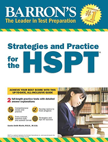 Strategies and Practice for the HSPT (Barron's Strategies and Practice for the Hspt)