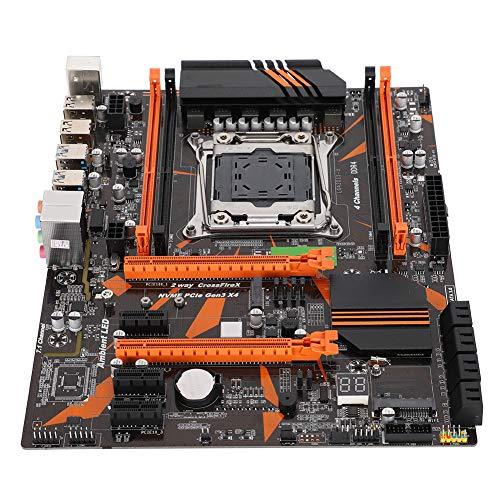 X99 LGA2011-3 DDR4-Mainboard Computer Desktop-Motherboard-Mainboard mit 8 SATA2.0-Anschlüssen & 1 SSD M.2-Schnittstelle für Intel x99-Chipsatz