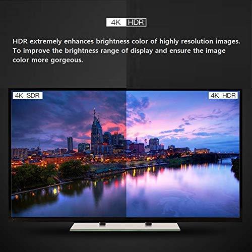 ATZEBE HDMI Glasfaser Kabel -15m, 4k HDMI-Kabel 2.0 unterstützt 4K@60Hz HDR, YUV4:4:4 8bit, 3D, ARC, HEC, CEC, HDCP 2.2 mit Dual Micro-HDMI- und Standard-HDMI-Connectors