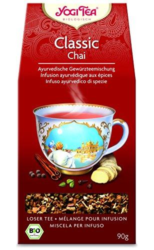 10 x Yogi Tea BIO Classic Chai Tee lose | 90g loser Chai Tea (=10er Pack)