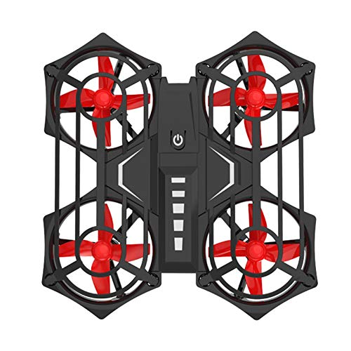 Fcil de llevar Drones, Gesto Mini Drones con Drones Porttiles de Induccin de Cmara Para Principiantes Pequeo Control remoto Quadcopter 360  Flip antena, adecuado para regalos para nios Doblez