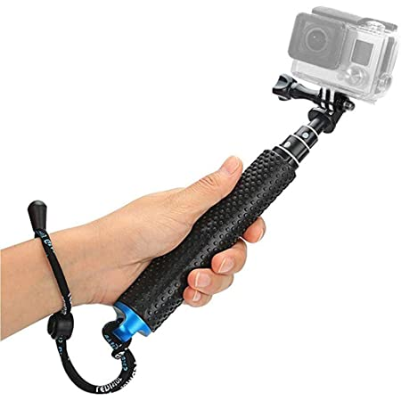 HASTHIP® Selfie Stick for GoPro,19inch Waterproof Hand Grip Adjustable Extension Monopod Pole for Gopro Hero 7 6 5 4 3+3 2 1