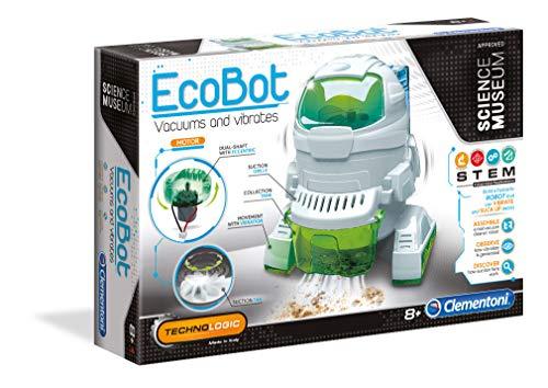 Clementoni 61777 59109 Galileo-Science – Saug-Roboter, Robotik für kleine Ingenieure, Einstieg in die Elektronik, High-Tech für Schulkinder, Spielzeug für Kinder ab 8 Jahren