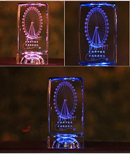 ZHEG Luces De Noche Coloridas Regalos De Cumpleaños Para Mi Novia Esposa Regalos De San Valentín Diy Caja De Música Regalos-1