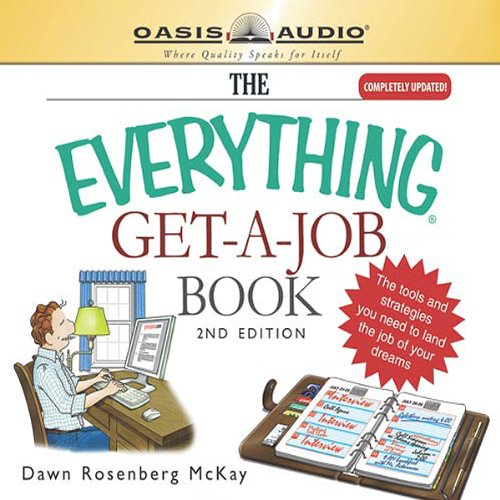 The Everything Get-a-Job Book audiobook cover art