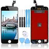 LL TRADER Nuevo LCD para iPhone 6 Negro Pantalla Táctil de Repuesto con Herramientas