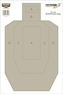 Birchwood Casey Eze-Scorer BC27 IPSC Practice Target (Per 100), 12 x 18-Inch