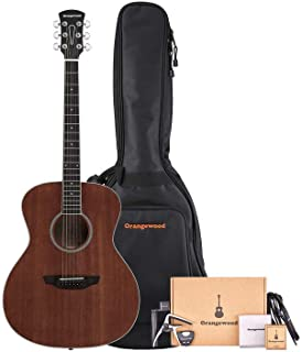 Orangewood 6 String Acoustic Guitar, Right, Mahogany (OW-DANA-M-AK)