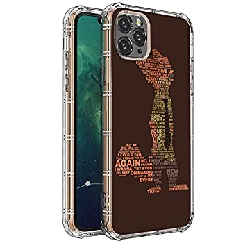 iPhone 11 Pro Max Case,Clear with Proud Fox Pattern Design Plastic iPhone 11 Pro Max Case TPU Bumper Protective Case Compatible with Apple iPhone 11 Pro Max