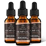 MADE WITH ORGANIC HEMP: Sourced from USA-grown organic hemp, and all hemp are expertly-selected, pesticide-free, and non-GMO to ensure your hemp oil has never been exposed to the kinds of harmful pesticides and chemicals commonly found in other produ...
