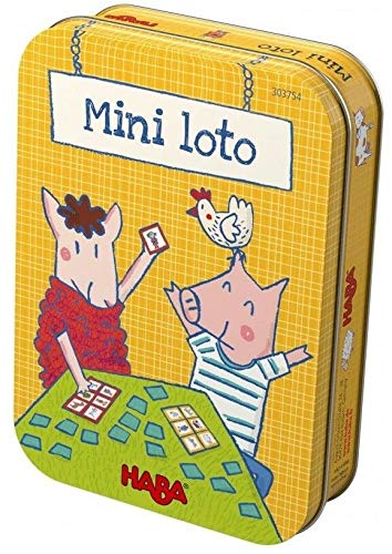 HABA Spel - Mini-lotto (Franse verpakking met Nederlandse handleiding)