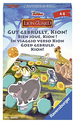 Ravensburger 23423 - The Lion Guard Gut gebrüllt, Kion! - Kinderspiel/ Reisespiel