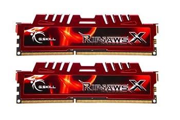 G.Skill Ripjaws X Series 16 GB  2 x 8 GB  240-Pin SDRAM  PC3-12800  DDR3 1600 CL10-10-10-30 1.50V Dual Channel Desktop Memory Model F3-12800CL10D-16GBXL