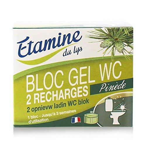 Etamine Du Lys Sanitaires Recharges Bloc Gel WC 2 x 50 ml