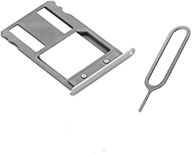 Micro Sim Card Frame Holder Tray Replacment For Huawei Google Nexus 6P H1512 H1511 +Sim Card Remover Pin Eject Key tool white