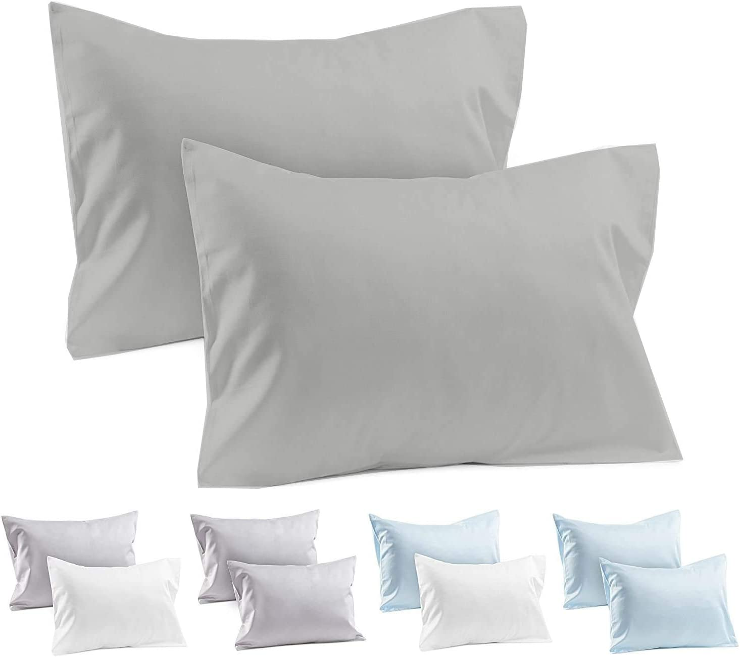 Whitecottonworld Popular brand Pillowcase Set of 2 Inch Toddler 12x16 6 Travel Outlet sale feature