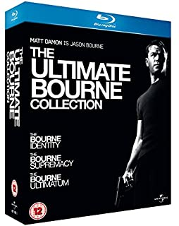 The Ultimate Bourne Collection [Blu-ray] [Region Free] (B001XCWPAM) | Amazon price tracker / tracking, Amazon price history charts, Amazon price watches, Amazon price drop alerts