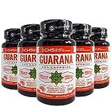 Guarana | 400 Kapseln x 450 mg (1 Jahr und 1 Monat Lieferung) | Unterstützung der Gehirnaktivität...