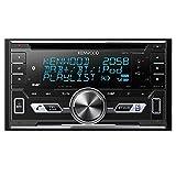 Kenwood Electronics DPX-7100DAB Negro Receptor Multimedia para Coche - Radio para Coche (Negro, 2 DIN, 50 W, MOSFET, AAC, FLAC, MP3, WAV, WMA, LCD)