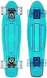 Ridge Blaze Mini Cruiser Skateboard Skate Transparent avec Roues Lumineuses LED:...