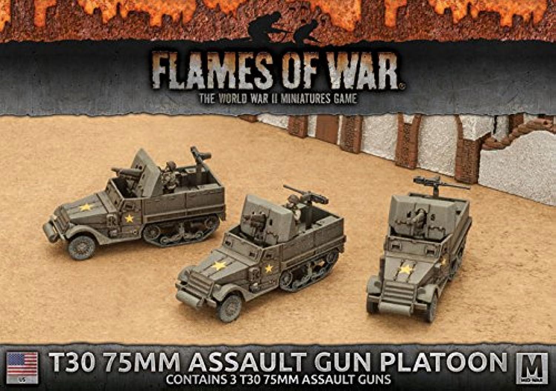 Flames of War  T30 75mm Assault Gun Platoon (3x