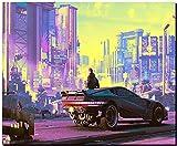 SKY DOT Cyberpunk 2077 Games ps Games Xbox Games Multicolor Mousepad