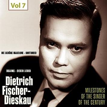 Milestones of the Singer of the Century - Dietrich Fischer-Dieskau, Vol. 7