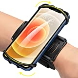 Newppon 360° Rotatable Phone Wristband : for iPhone 12 Pro Mini SE 2021/11/11 Pro/Xs/XR/X/8/7/Plus, Fits All 4-6.7 Inch Smartphones, fit Running Workout Hiking Sports