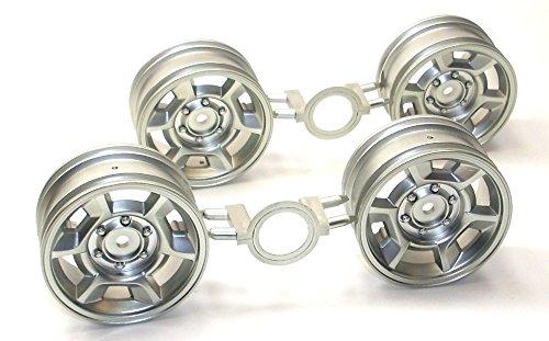 TAMIYA 1:10 Ford F-350 High-Lift Ersatzteil 9335460 Felgen 4 Stück 26 mm TFH®
