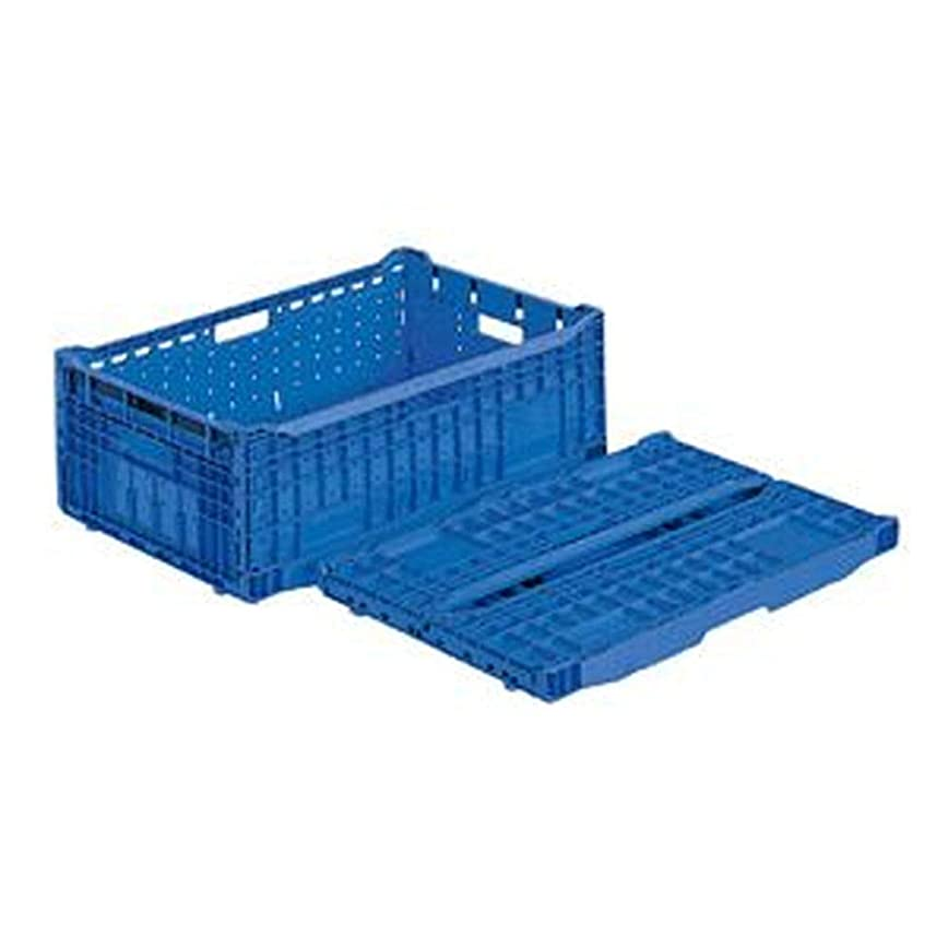 グレー専門用語ラップトップ== 業務用5個セット == 三甲 - サンコー - / 折りたたみコンテナボックス/EPオリコン / - 内倒れ式 - / アミ目 / EP41A / ブルー - 青 - - -