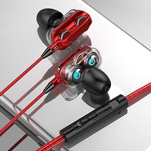Auriculares con Cable,Auriculares in Ear,Cascos Musica,con MicróFono, Sonido,Puede Responder Y Colgar Llamadas,para...