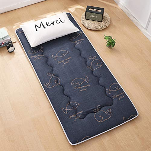 TT-AINI Breathable Sleeping Futon Mattress Mat,Thicken Foldable Floor Mat Pad Japanese Bed Roll Double Sides Quilt for Student Home