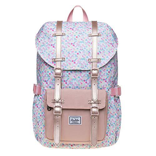 Reise-Laptop-Rucksack, Outdoor-Rucksack, Schulrucksack, passend für 39,6 cm (15,6 Zoll) 5-17 Colordot Large