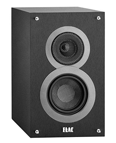 Elac Debut B4–Altavoces de estantería (par) 40/60W Negro Decoración