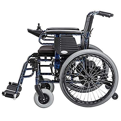 WENZHEN Intelligente Steuerung Leichter, Tragbarer Premium-Elektrorollstuhl Mit Lithium-Ionen-Akku Und 20-Ah-Doppelmotor-Elektrorollstühlen Für Jedes Gelände Elektrischer Rollstuhl