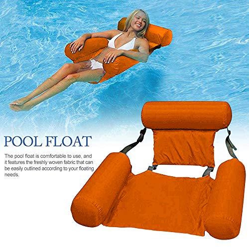 Hamaca hinchable radeales hinchables de hamaca de flotador de piscina, flotador de piscina, flotador de piscina hinchable para exterior e interior
