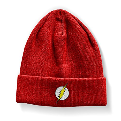 The Flash Officiellement Marchandises sous Licence Logo Bonnet (Rouge)