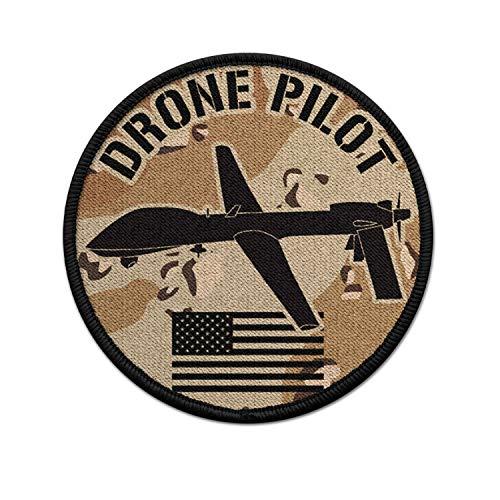 Copytec Patch US Drone Pilot Desert camo USA Army Air Force Predator UAV #36739