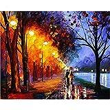 Imagen digital del paisaje natural en lienzo Decoración del hogar Diy como regalo único 60x75cm