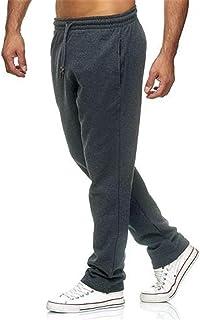 SHOULIEER Pantalon de Cordon de Cordon de Cordon de Gymnastique de Gymnastique de Couleur Massif épais vêtements de Sport ...