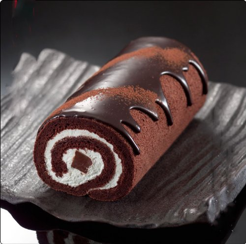 【神戸生チョコロール】★小麦粉のかわりにココアパウダーとベルギー産チョコで生地を作った贅沢なロールケーキ(生チョコレートロールケーキ)