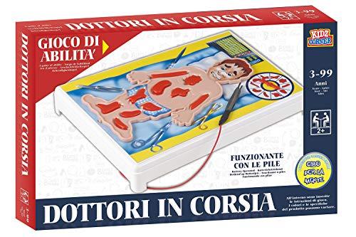 Glooke Selected- Dottori in Corsia S6719 J313 Gioco Classico Bambino da Tavolo Giocattolo 728, Multicolore, 6923362977152