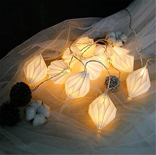 Xingyue Mythology Luces LED De Cadena Luces De Cadena De Mano De Bricolaje Luces De Papel Luces De Cadena Luces Festivas De Luz